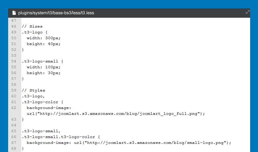 自定义页脚标志样式